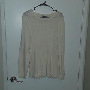 Chelsea & Theodore Off white sweater